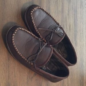 DOCKERS MENS SLIPPERS- XL 11/12 NWOT
